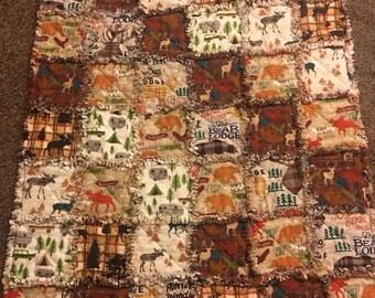 Brown Outdoorsy blanket