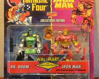 Fantastic Four and Iron Man, Dr. Doom & Iron Man Collectors Edition Walmart Exclusive from 1995