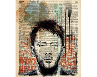 Instant download RADIOHEAD, printable, poster w0031D