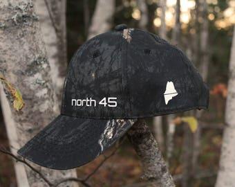 North 45  - mossy oak midnight pattern