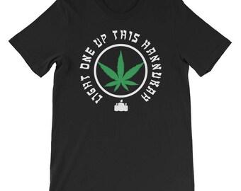 Funny Hanukkah smoking t-shirt