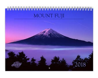 Mount Fuji 2018 Wall Calendar