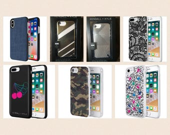 Kendall + Kylie IPhone Cases! +free gift! NEW