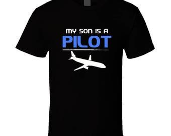 My Son Pilot T Shirt