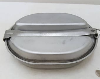 Vintage Military Issued Mess Kit