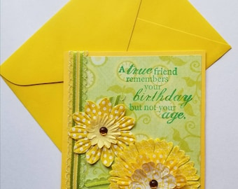 Friend Birthday Card - Sunny and Bright