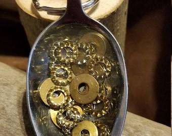 Steampunk keychain
