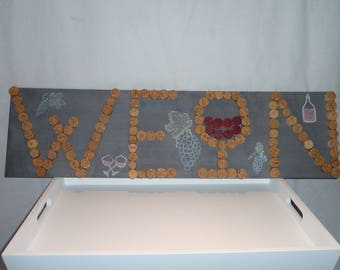 Cork Decoration Wall, memo, Tapestry
