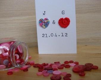 Crochet Wedding/Anniversary Card