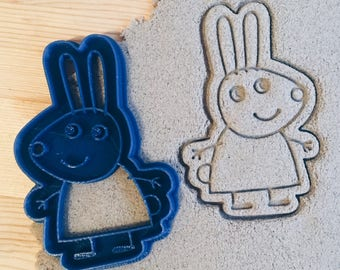 Rebecca rabbit Peppa Pig Cookie Cutter