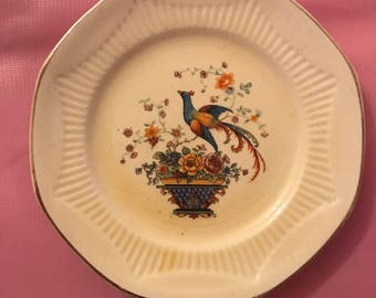 Antique Ivory from Salem Octagonal Plate
