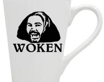 Matt Hardy Woken Broken Hardy Boys WWE ROH NXT Wrestler Wrestling Mug Coffee Cup Gift Home Decor Kitchen Bar Gift for Her Him Squared Circle