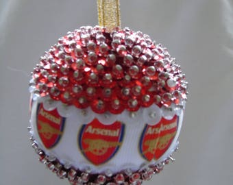 Arsenal Football Bauble