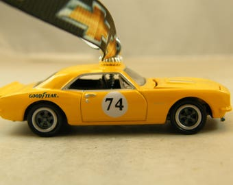 Camaro - FREE SHIPPING - Anytime Ornament - 1967 67 Chevy - opening hood - man cave - dad - birthday - Fathers Day - Old School Muscle car