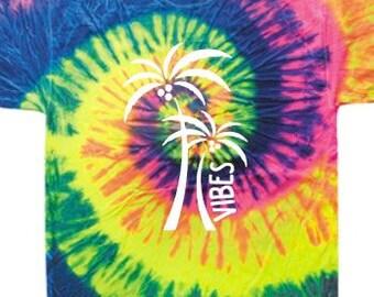 Tie Dye Summer Vibes shirt