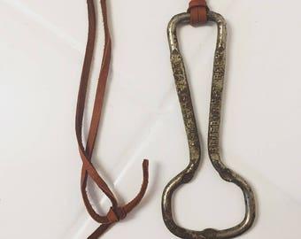 Antique Opener Necklace