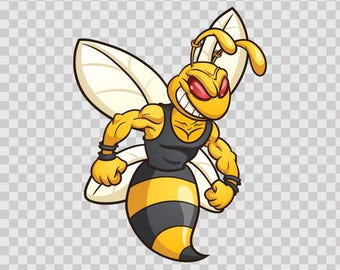Decals Sticker Bee Hornet Wasp Guardian Bicycle Sports 06354