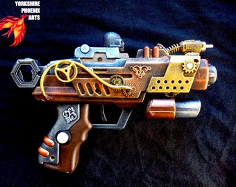 STEAMPUNK customised Nerf type gun 2 - display or cosplay