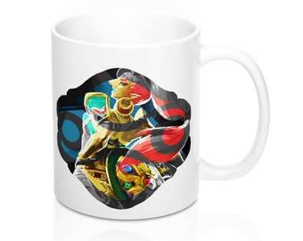 Urbosa // Gerudo Symbol // Breath Of The Wild // The Legend Of Zelda // Hyrule // Mug 11Oz