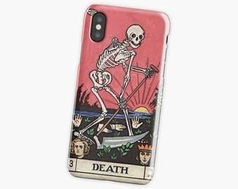 Death Tarot phone case iPhone 7 plus case Death Tarot galaxy s8 iPhone 6s iPhone 7 case iPhone 6 case iPhone7 plus case iPhone 8
