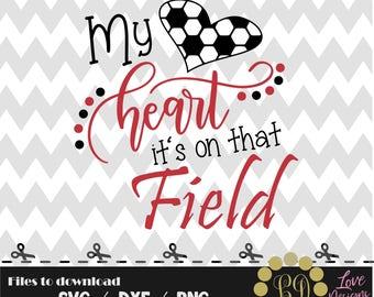 My heart it's that field,soccer mls svg,png,dxf,cricut,silhouette,college,jersey,shirt,proud,bama,ncaa svg,rattlers svg,cut,softball,hornets