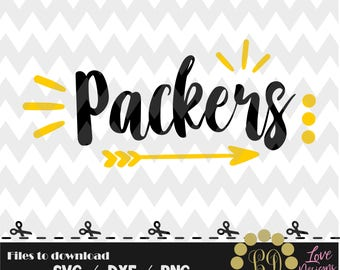 Packers svg,png,dxf,cricut,silhouette,college,jersey,shirt,proud,cut,university,football,arrow,disney,decal,green bay,wisconsin,go pack,svg