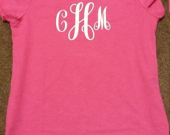 T shirt with initials, t shirt personalized, t shirt women, t shirt ladies, custom t shirt, shirt for women, shirts with sayings, t shirts