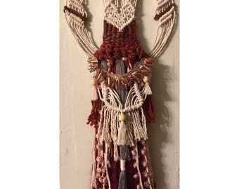 Autumn Macrame Wall Hanging