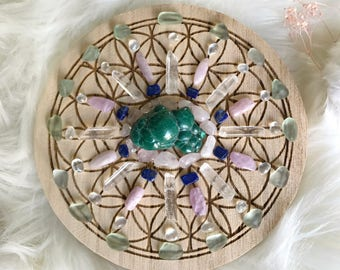 15cm Sleep Well Complete Set of Crystal Grid
