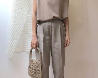 small handbag vintage knotted