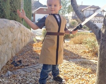 Star Wars Jedi inspired childs apron