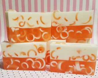 Creamsicle Delight Goat's Milk and Glycerin Soap-50/50 Bar