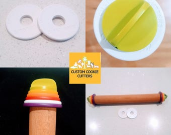 "8mm 5/16"" Discs to suit Joseph Joseph Rolling Pin 