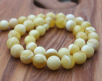 Milky Baltic Amber Beads, amber necklace, amber bead, amber bead necklace, baltic amber bead, baltic amber, amber jewelry, gift for her