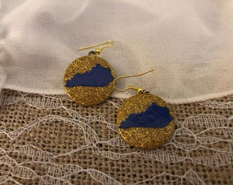 Dangle Kentucky earrings
