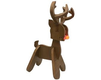 Rudy - Rudolph the Red Nosed Reindeer Decorative Christmas Light