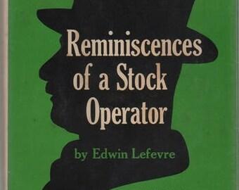 LEFEVRE, Edwin. Reminiscences of a Stock Operator.