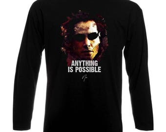Inspired By Keanu Reeves Neo The Matrix Long Sleeve T-Shirt