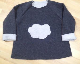 Hooded baby boy cloud