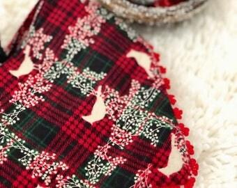 Christmas holiday dog bandana