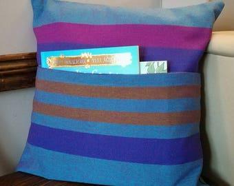 Reading Pillow, Pocket Pillow, Book Pillow, Book Cushion, Story Cushion, Story Book Pillow, Reading Book Cushion