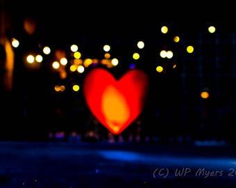 A burning heart needs focus