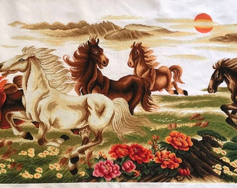 Eight Galloping Horses