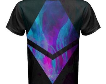 Ethereum Cryptocoin  fashion new aesthetic of future t-shirt exclusive design cotton  men and women created by artist