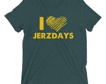 I LOVE JERZDAYS Jersey Shore Short sleeve t-shirt