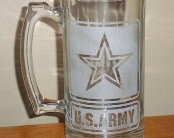 Etched Glass Mug/Cups/Flasks