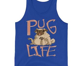 Pug Life Mens Tank Top