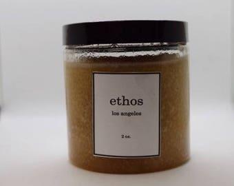 Brightening Organic Sugar Scrub - Organic Body Scrub - Essential Oil - 4.5 oz Sugar Scrub- All Natural Sugar Scrub - Natural Body Scrub