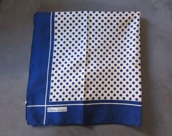Vintage 1970's Eileen Wood Italian Headscarf