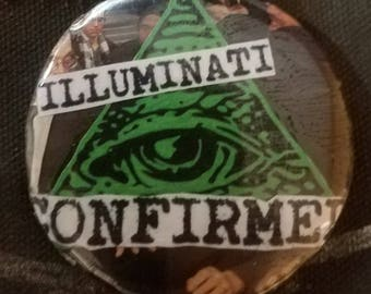 Illuminati confirmed pin! Since I was tossed out to the trash by the glabal elite I have been exposing the truth about them!!!